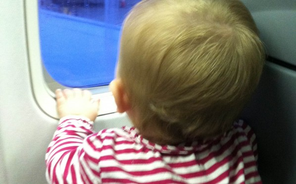 How getting your child to sleep on a plane is not unlike passing through the stages of grief