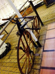 Bicycle on board the Cutty Sark