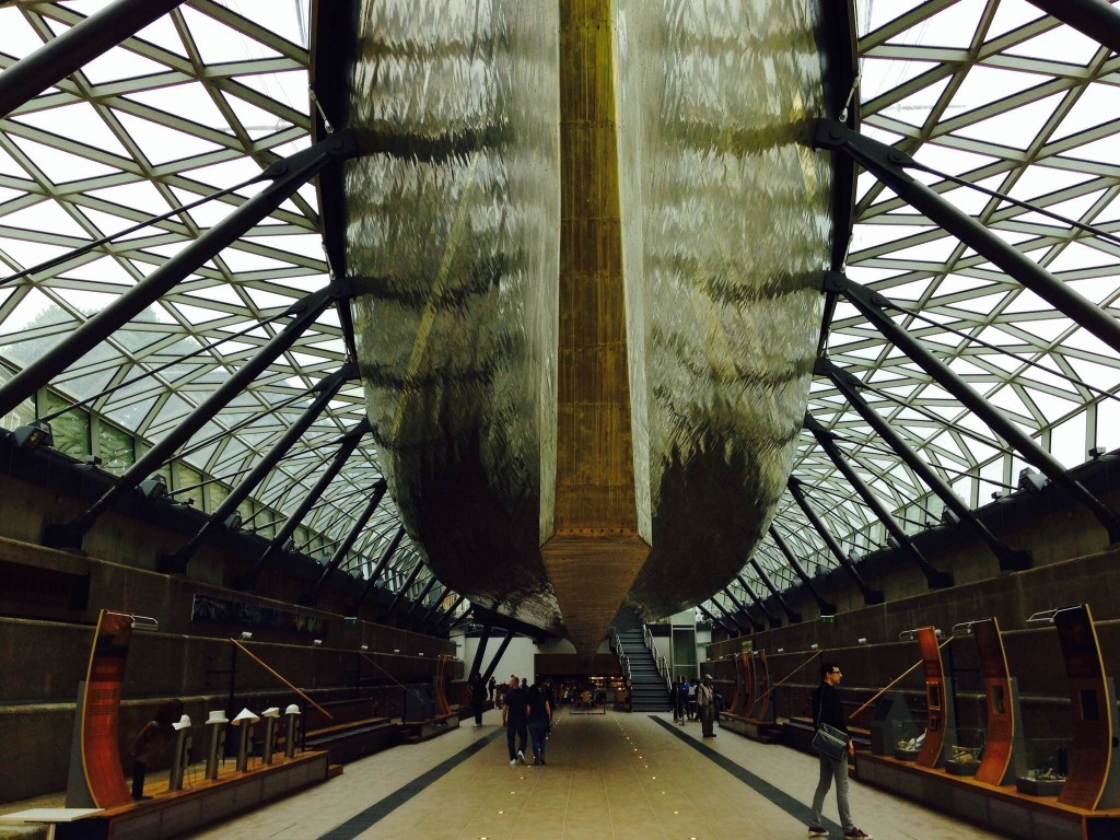 Keel of the Cutty Sark