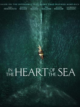 InThe Heart of the Sea Movie Poster