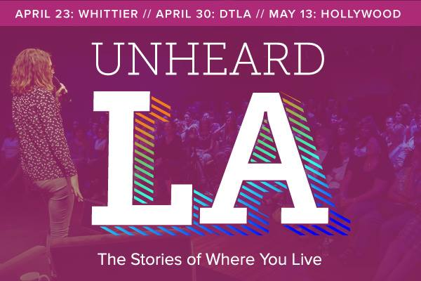 Reading for Unheard LA on KPCC