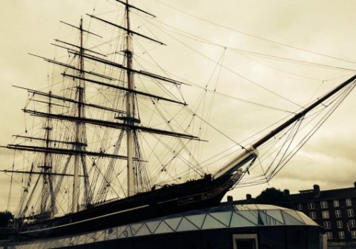 Visiting the Cutty Sark in Greenwich, England
